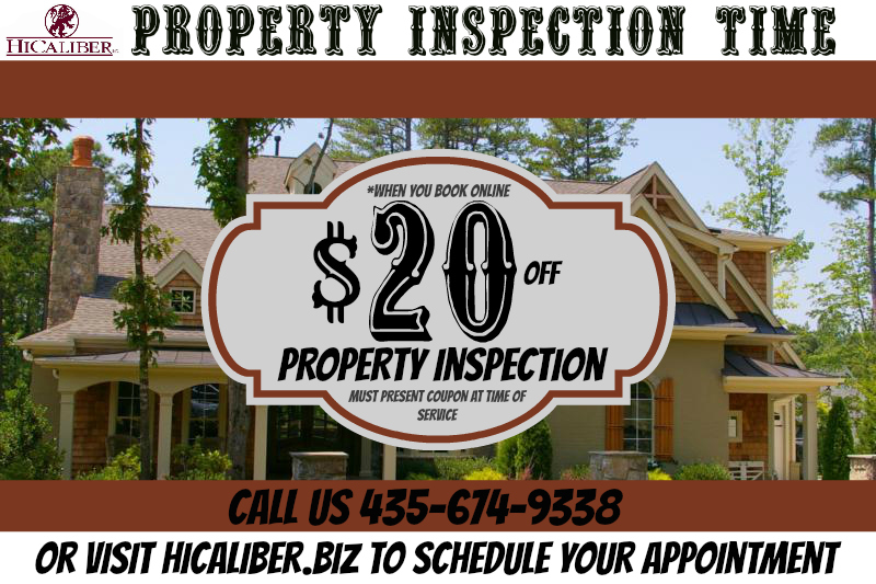 Use this coupon for your next property inspection